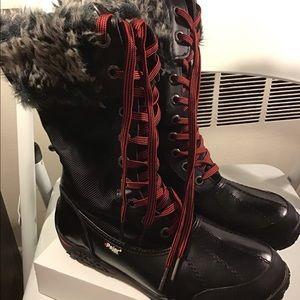 Pajar boots, Canada.